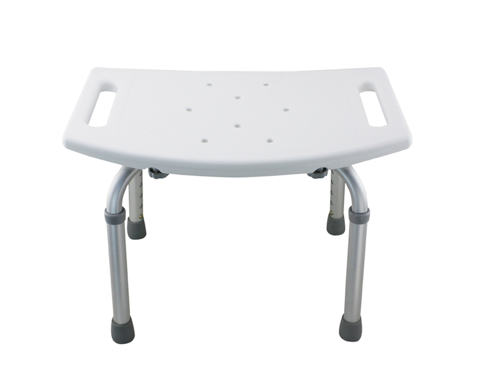 Tool Free Legs Adjustable Bathroom Shower Tub Bench Chair   Matte Type    Shih Kuo Enterprise Co., Ltd.